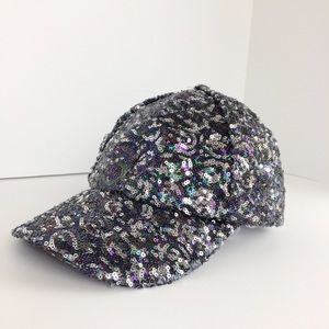 Free People Shine On Sequin Baseball Cap